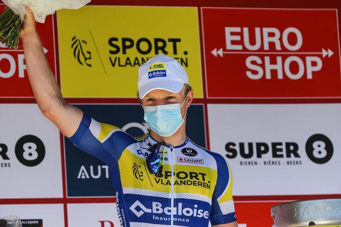 Sasha Weemaes bewees in Ruddervoorde en de Elfstedenronde dat hij op dreef is.