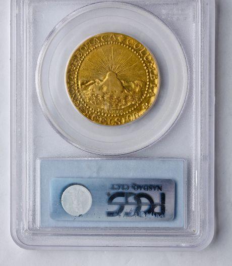 Amerikaans goudstuk geveild voor 4,5 miljoen dollar