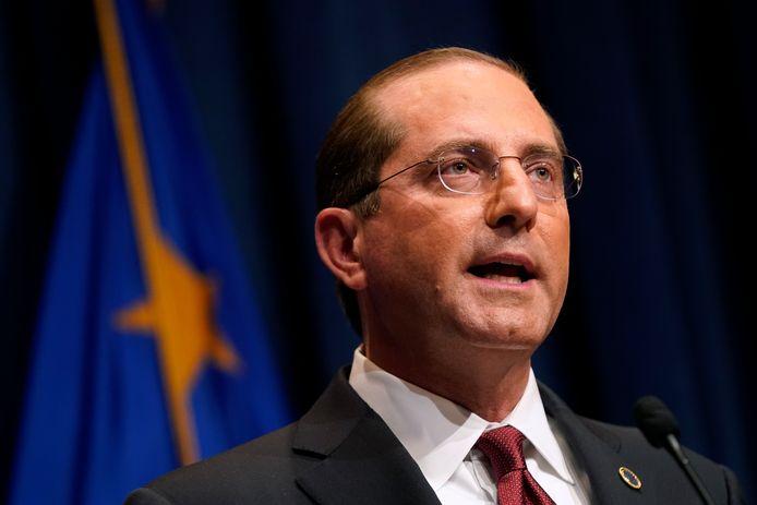 Alex Azar, ministre américain de la Santé.