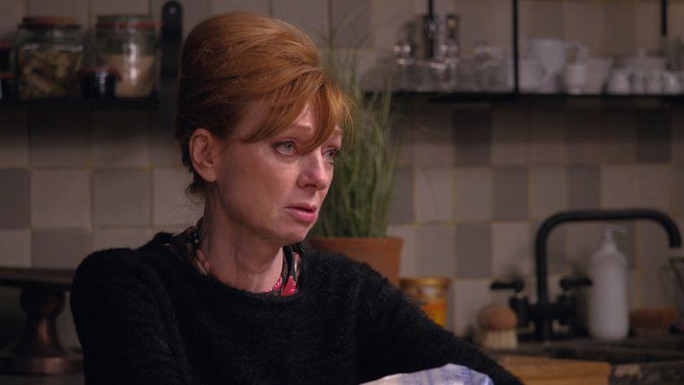 Marleen Merckx in 'Thuis' Beeld VRT