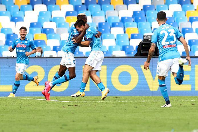 Le Napoli n'a laissé aucune chance à l'Atalanta.