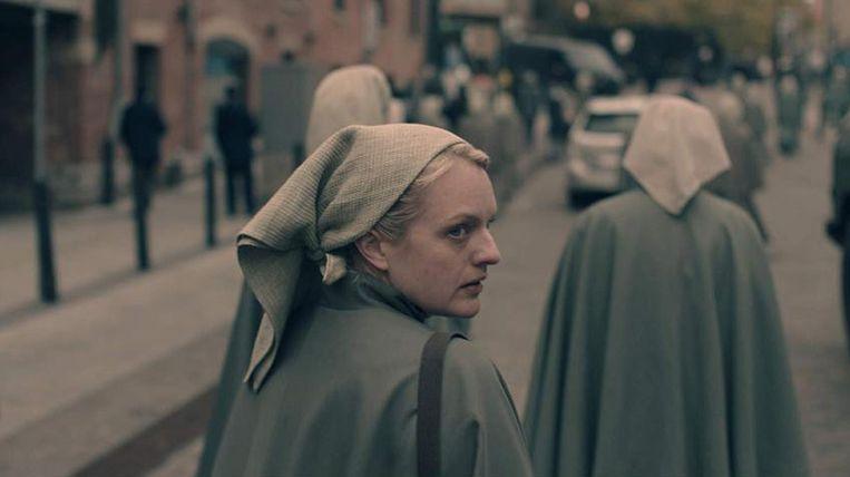 Elisabeth Moss in The Handmaid's Tale, seizoen 3 Beeld Hulu