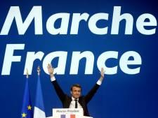 Plus d'une centaine de Français fêtent la victoire de Macron à Bruxelles