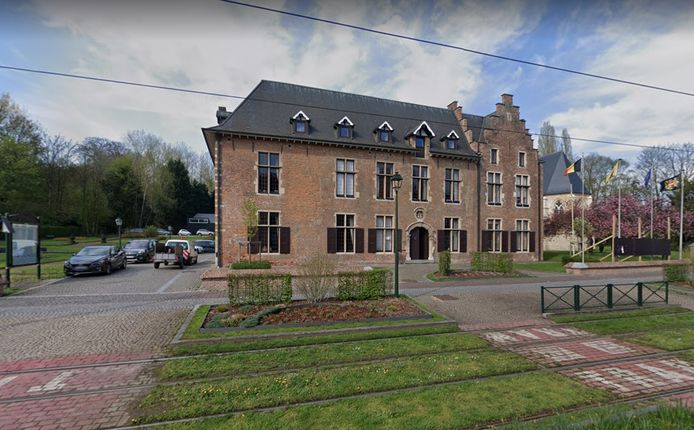 Het gemeentehuis van Drogenbos.