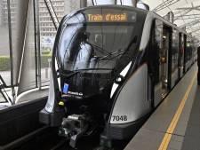 La nouvelle rame du métro bruxellois arrive cet été