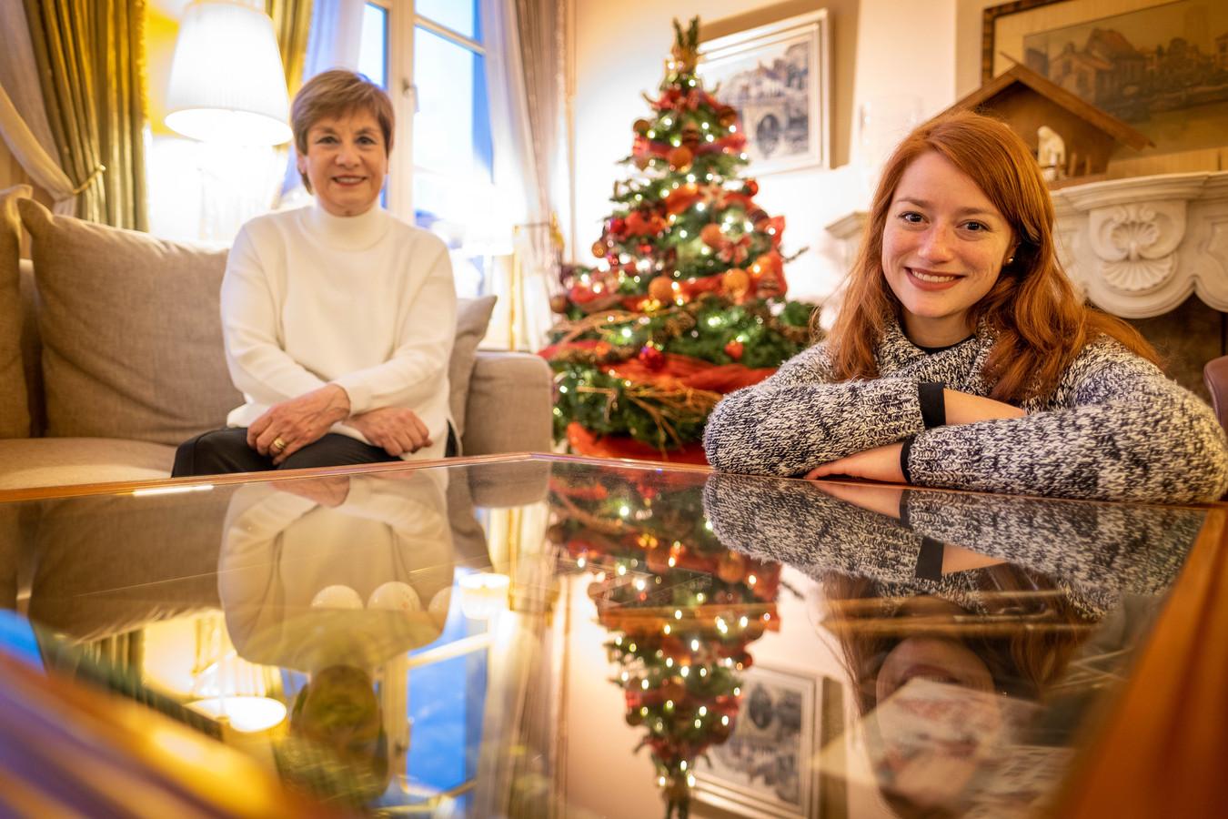 MECHELEN Connie Neefs brengt samen met haar dochter Hannelore het kerstlied 'Susa Nina' uit van haar overleden broer Louis
