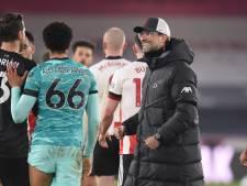 Klopp haalt na dramareeks opgelucht adem: 'Natuurlijk komt Liverpool terug'