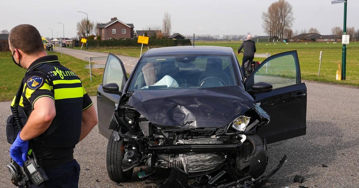 Opnieuw stevig ongeluk op beruchte kruising aan rand van Oss.