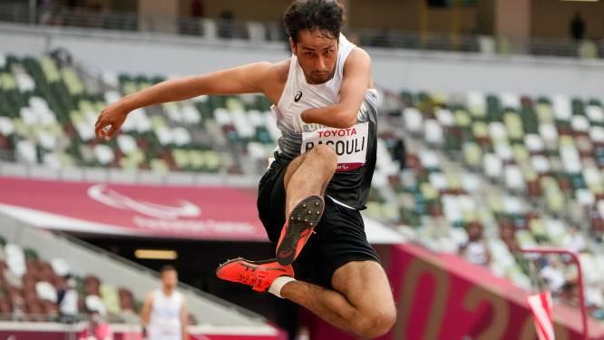 La course d'obstacles du premier des deux athlètes paralympiques afghans à Tokyo