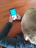 Kyan (10) kreeg geld gedoneerd van wildvreemden op Twitter.
