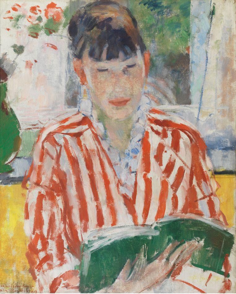 Rik Wouters, 'Lezende vrouw', 1913. Beeld Hugo Maertens