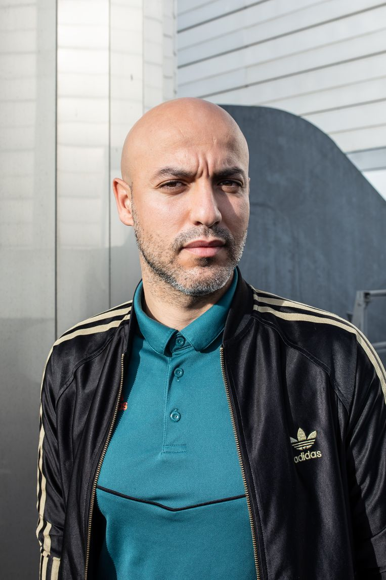 Yassine Boussaid: 'Ajax had de vorige dag een Europese wedstrijd gespeeld in het Olympisch Stadion en nu liepen wij over het gras.' Beeld Nosh Neneh