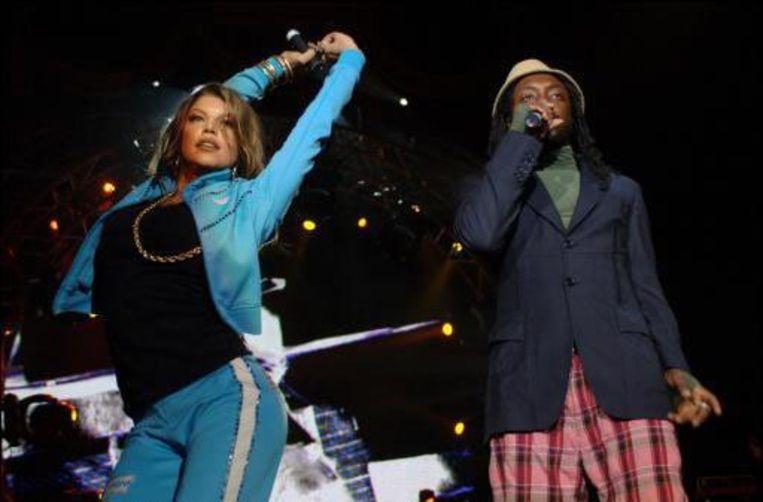 Black Eyed Peas. Beeld UNKNOWN