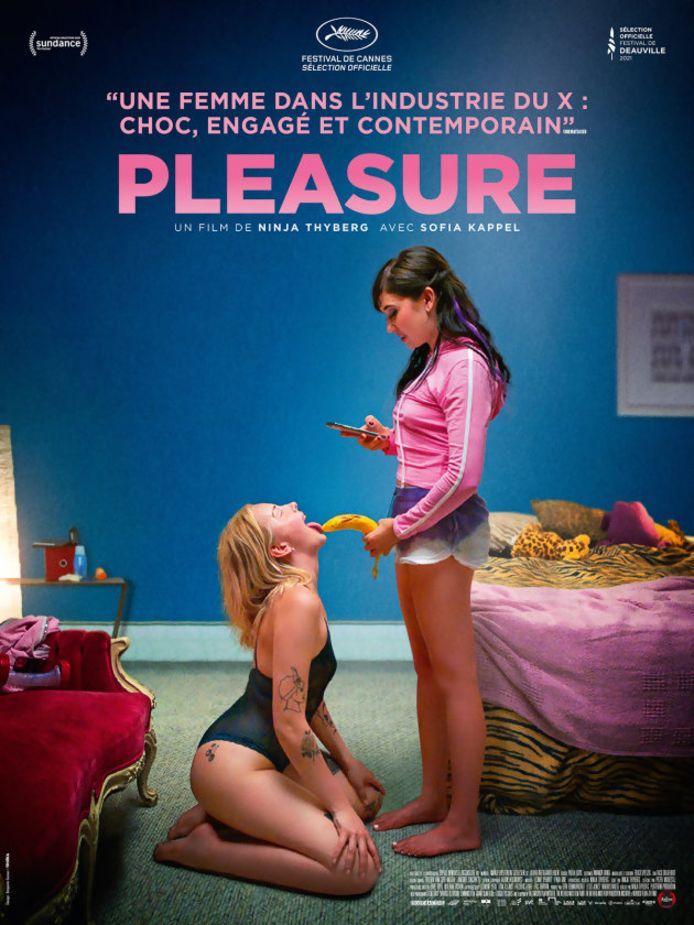 """L'affiche de """"Pleasure"""", attendu dans les salles françaises le 21 octobre."""