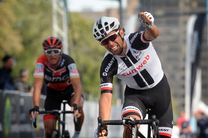 Michael Matthews, vorig jaar winnaar in Quebec.