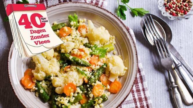 De tip van tweesterrenchef Luc Belling om vegetarisch eten niet beu te worden