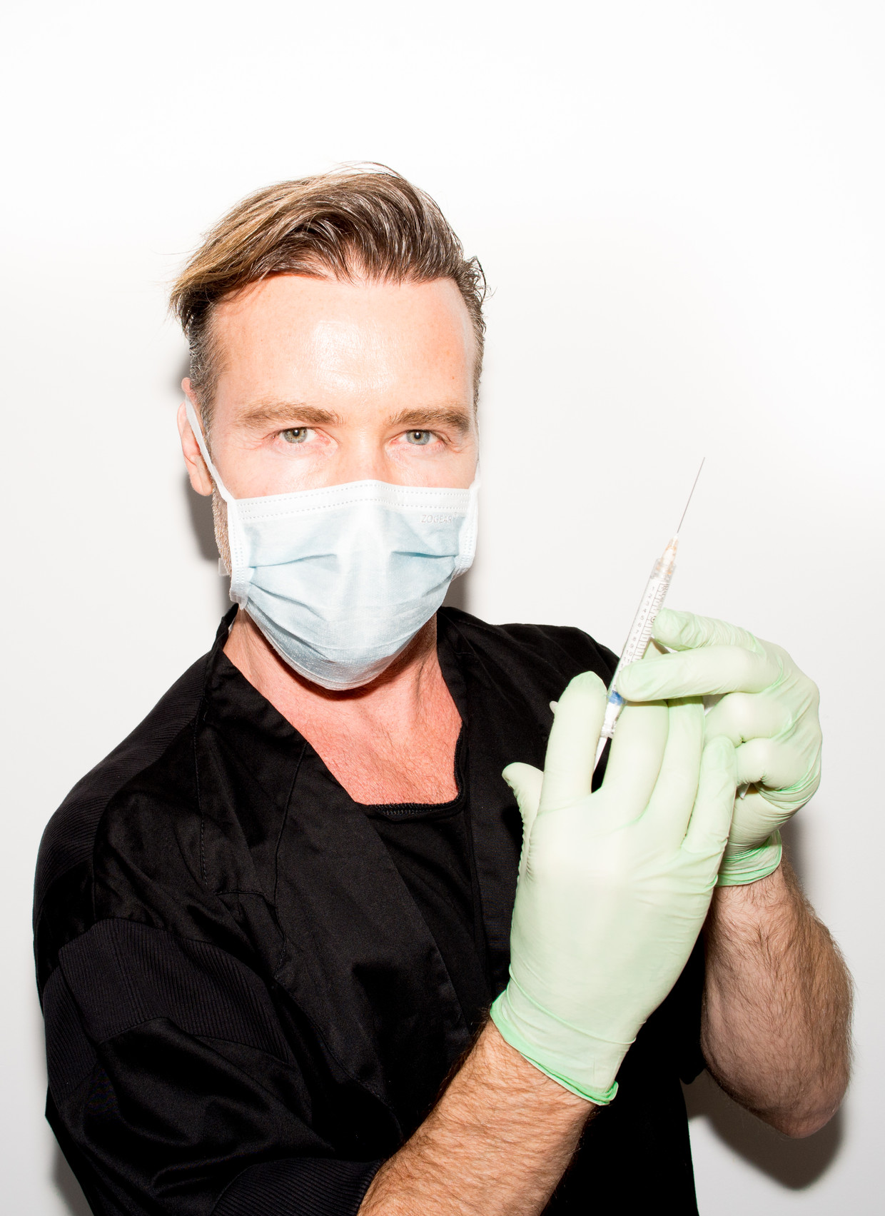 Jani van Loghem, Amsterdams beroemdste cosmetisch arts. Beeld Marjolein van Damme