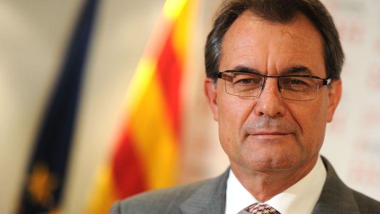 De Catalaanse premier Artur Mas. Beeld AFP