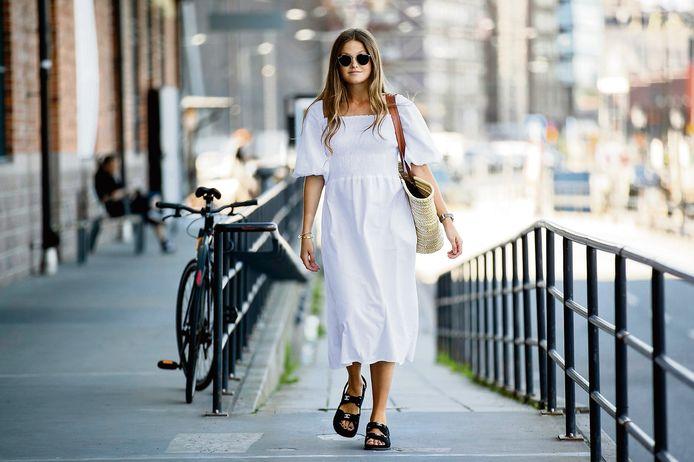 """Ici, la version Chanel de la """"sandale moche""""."""