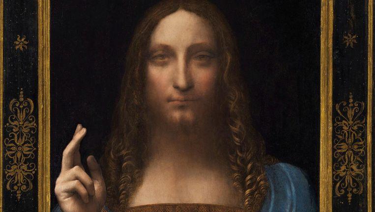 Medio november werd Salvator Mundi bij Christie's in New York geveild Beeld Reuters