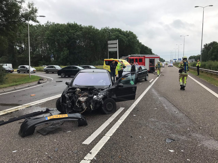 Flinke schade bij aanrijding | Utrecht | AD.nl