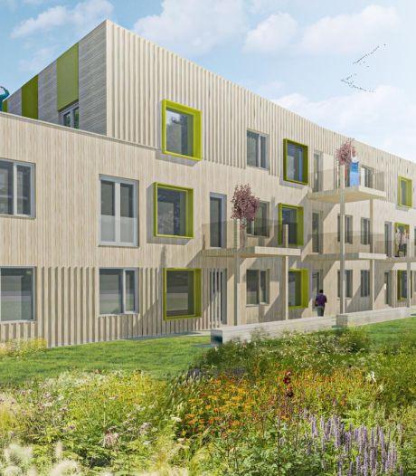 Blokkade nieuwbouw appartementen in Sas van Gent voorzichtig van de baan