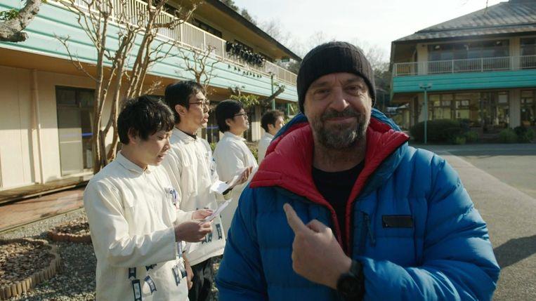 Tom Waes maakte een roadtrip door Japan. Hij startte in Nagasaki. Beeld VRT