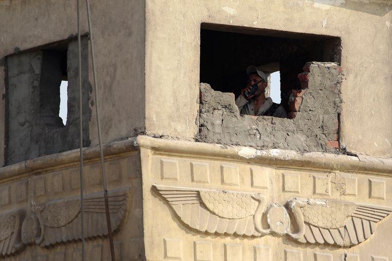Een gevangenis in Egypte.  Beeld REUTERS
