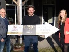 Kempisch ondernemersnetwerk doneert 750 euro aan stichting