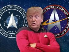 Le logo de la nouvelle force spatiale américaine de Donald Trump semble très familier