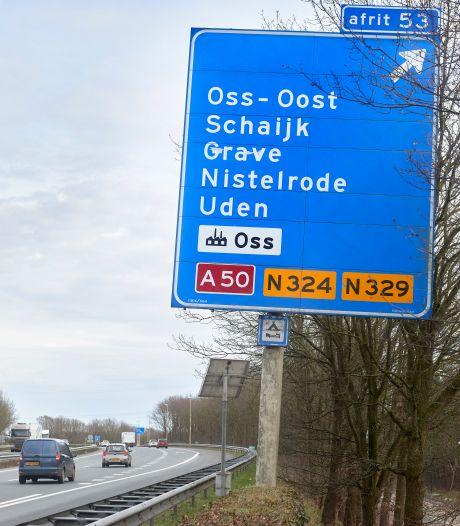 Snelweg A59 komend weekend dicht