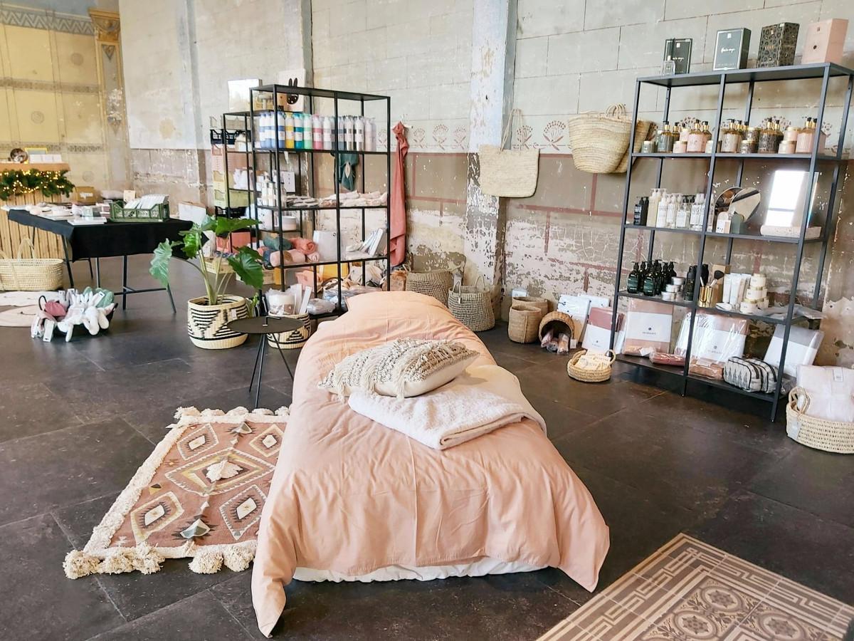 Gaëlle Vervaeke verkoopt allerlei interieur- en lifestyle producten.