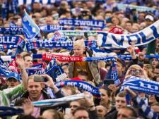 Supporters PEC Zwolle na verplaatsen Ajax-uit: 'aan Jan met de pet wordt niet meer gedacht'