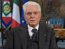 """Le président italien: """"Moi non plus, je ne vais pas chez le coiffeur"""""""