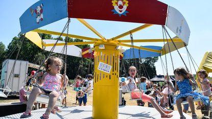 Kinderen op tijdreis tijdens Fiesta4Kids