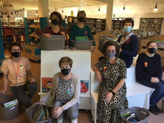 De medewerkers van de bibliotheek in Torhout zijn er klaar voor.