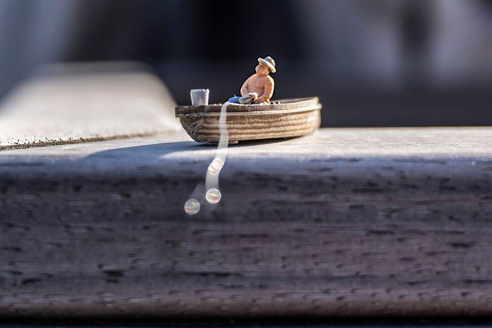 Fotografe Mien Roose maakt prachtige foto's met haar miniatuuropstellingen.