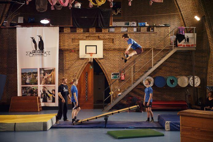 Cirkus in Beweging komt met een digitale circusschool waar je naar hartenlust kan rondlopen en afscheid nemen van elk hoekje van het Broosgebouw