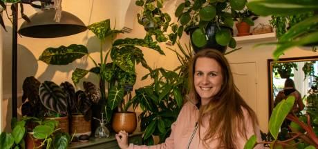 Esmée Milan heeft een plantenwinkel in Zwolle: 'Liefhebbers reizen stad en land af'