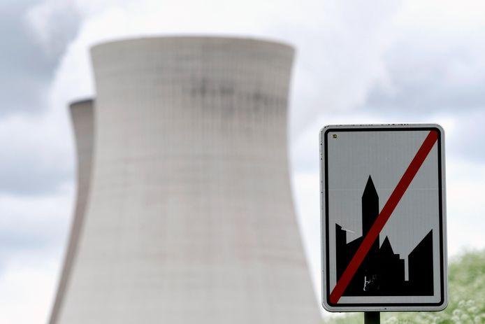 De koeltorens van de kerncentrale van Doel.
