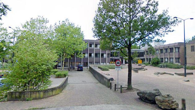 Het gemeentehuis van Oosterhout.