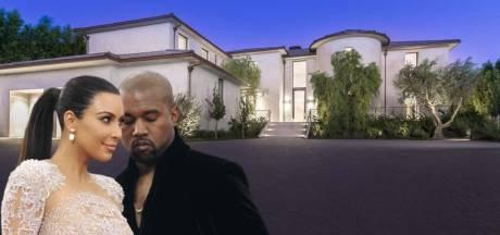 Qui de Kim ou Kanye va garder leur villa à 60 millions de dollars?