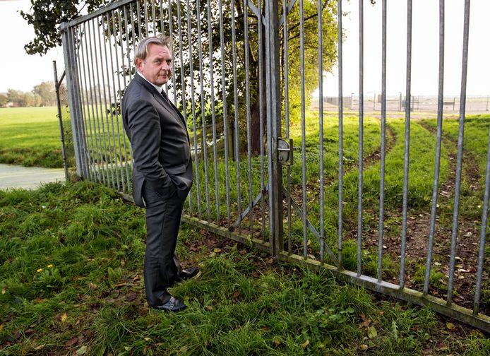 Eerder nam de nationale ombudsman Reinier van Zutphen een kijkje bij het terrein bij Papekop waar Vermilion naar gas wil boren.