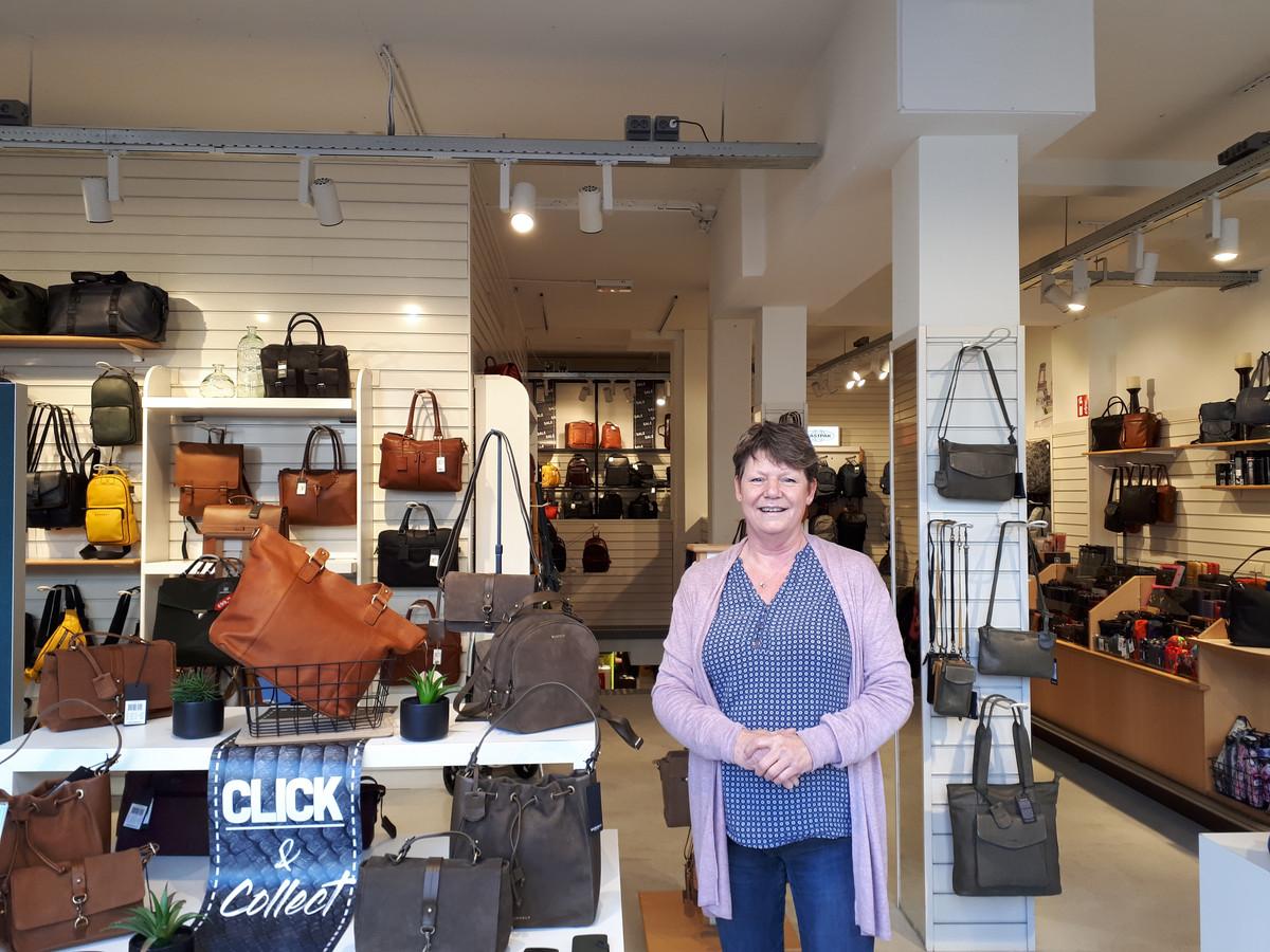 Sonja de Wagt van tassenwinkel Wennekes