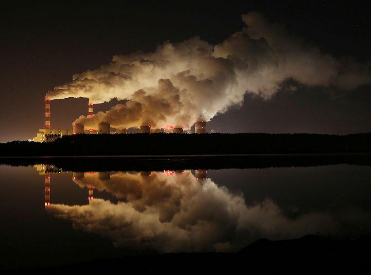 De elektriciteitscentrale Belchatow in Polen. Beeld AP