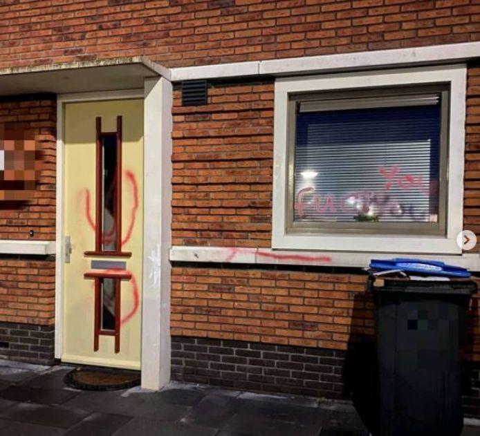 De resultaten van de verfsmeuractie in Opheusden.