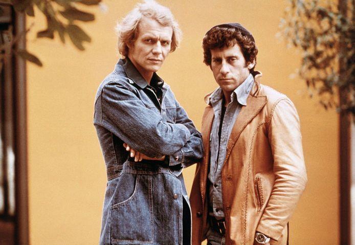 Paul Michael Glaser et David Soul, les acteurs de Starsky et Hutch.