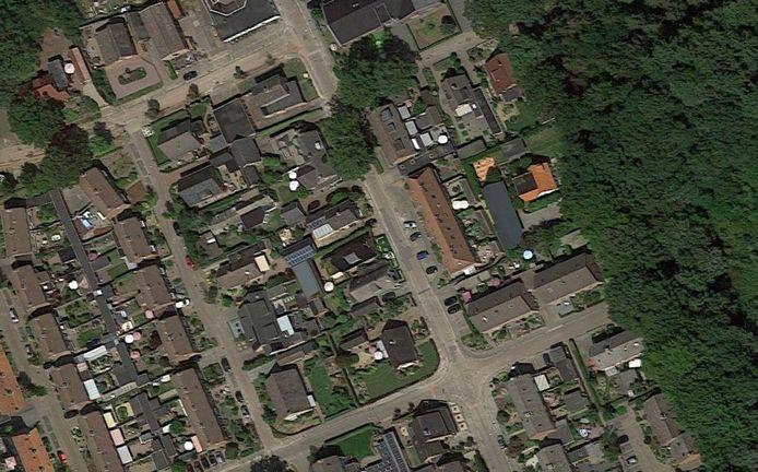 De wijk in Klarenbeek waar de woning staat die vannacht is overvallen.