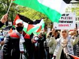 Honderden mensen bij Free Palestina-demonstratie in Enschede