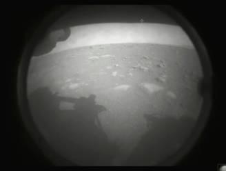 Waarom het eerste beeld dat Marsrobot Perseverance maakte een zwart-wit foto was